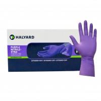 Halyard Health Purple Nitrile Xtra Gloves
