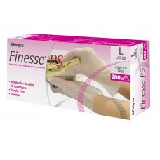Finesse PS Clear Vinyl Gloves