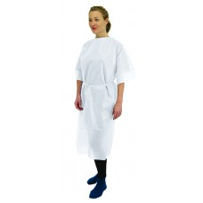 Short Sleeve Examination Gowns